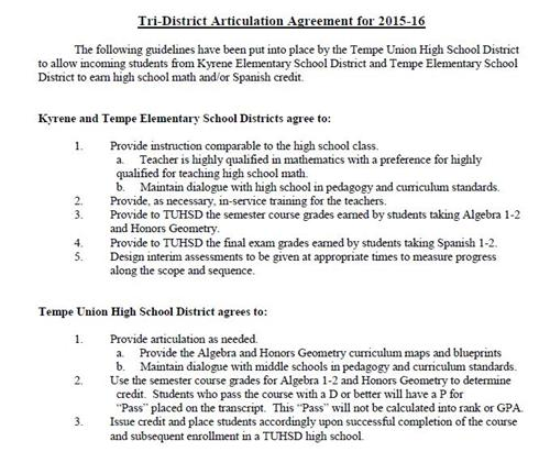 Tri-District Agreement