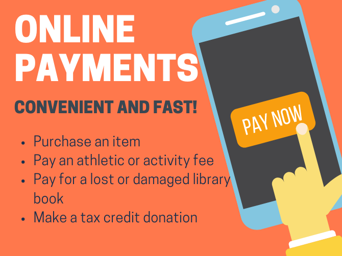 Information about online payments