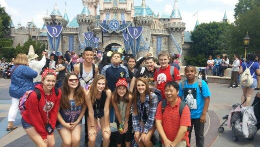 Choir in Disneyland
