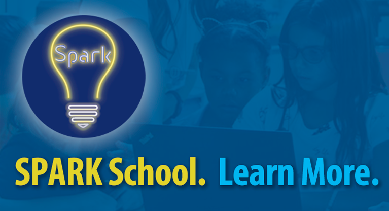 SPARK School. Learn More.