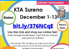 Virtual Book Fair: Dec 1 - Dec 13