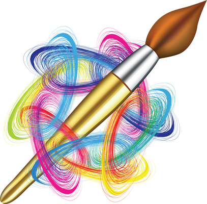 Clipart of Paintbrush