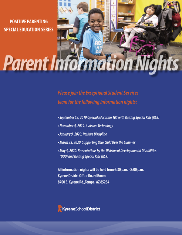 Parent Information Nights