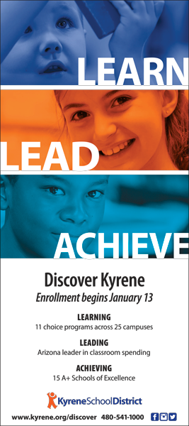Learn. Lead. Achieve. Enrollment begins January 13