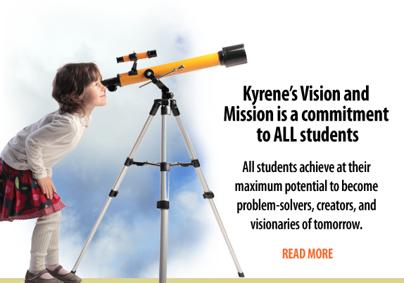 Girl peering into a telescope
