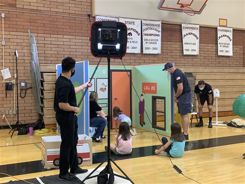 Safety TOwn filming