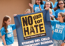 No Place for Hate assembly