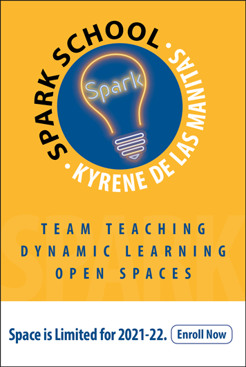 SPARK School at Kyrene de las Manitas. Space is Limited for 2021-22. Enroll Now.