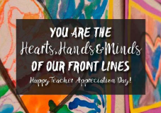 Happy Teacher Appreciation Day!