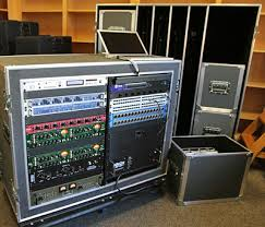 picture of production sound system