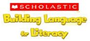 Building Language for Literacy logo