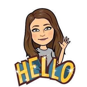 Hello from Ms. Benson!
