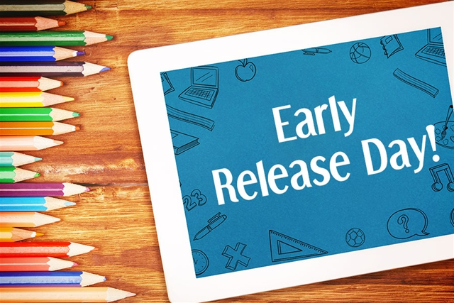 Early Release Dates and Bell Schedule
