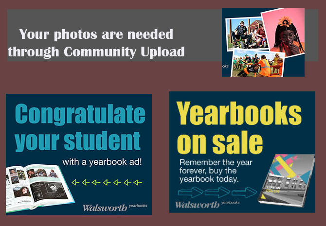 2020-2021 Yearbook, 8th Grade Dedication or Contribute a Yearbook Photo