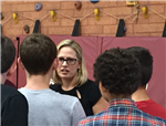 Sinema with students