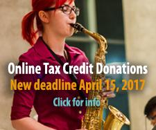 Online Tax Credit Donations